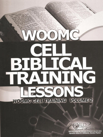 WOOMC Cell Biblical Training Lessons: WOOMC Cell Training Volume 2