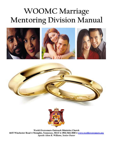 WOOMC Marriage Mentoring Division Manual