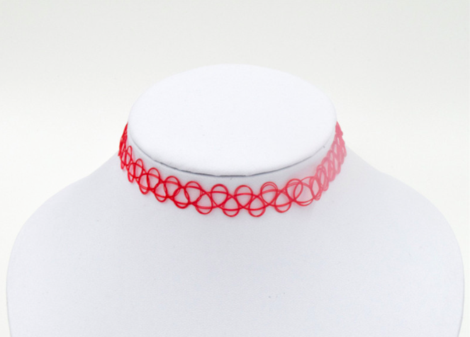 Multicolor Chocker