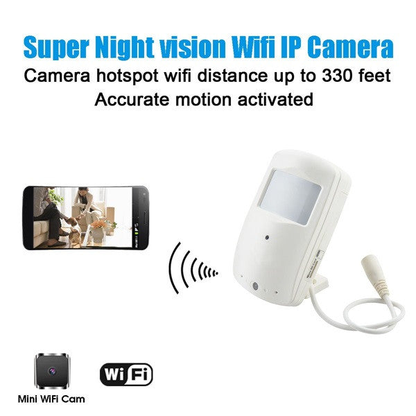 Hd Wifi Home Security Camera Motion Activated Push