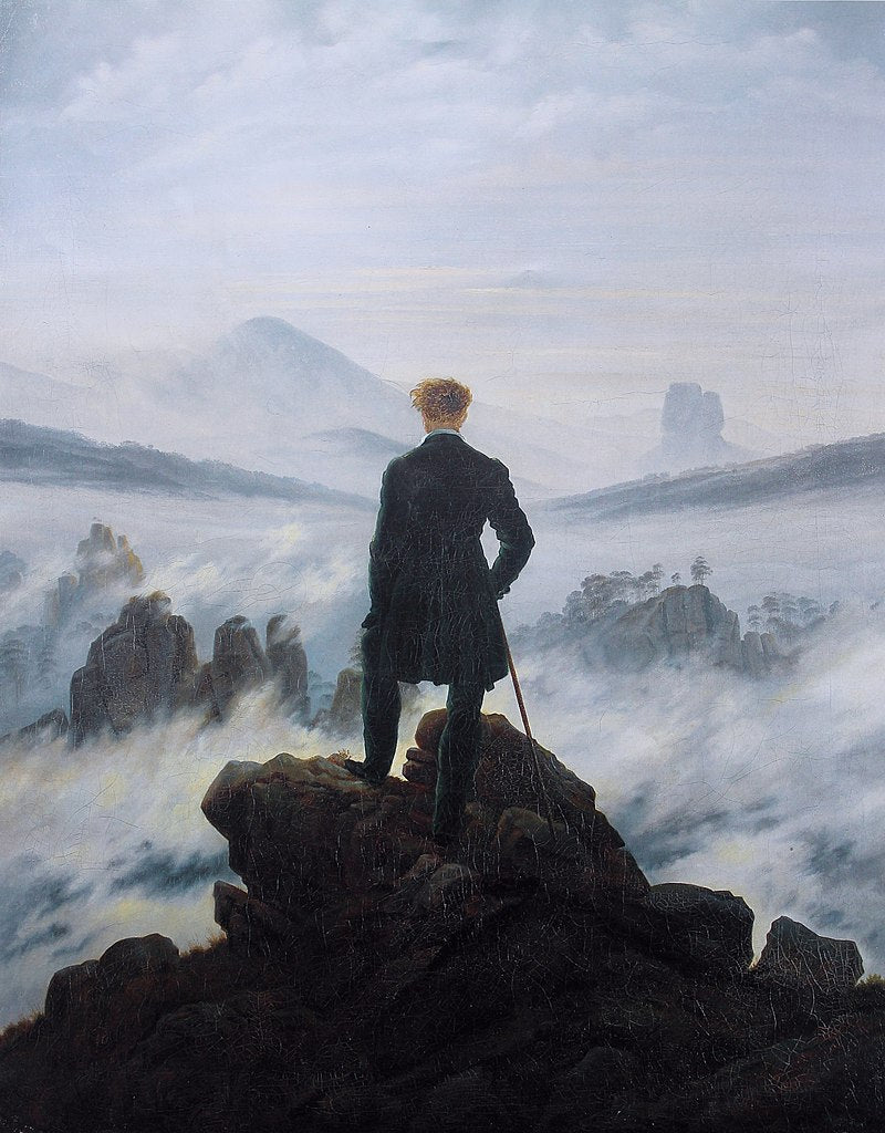 Caspar David Friedrich, Wanderer above the Sea of Fog