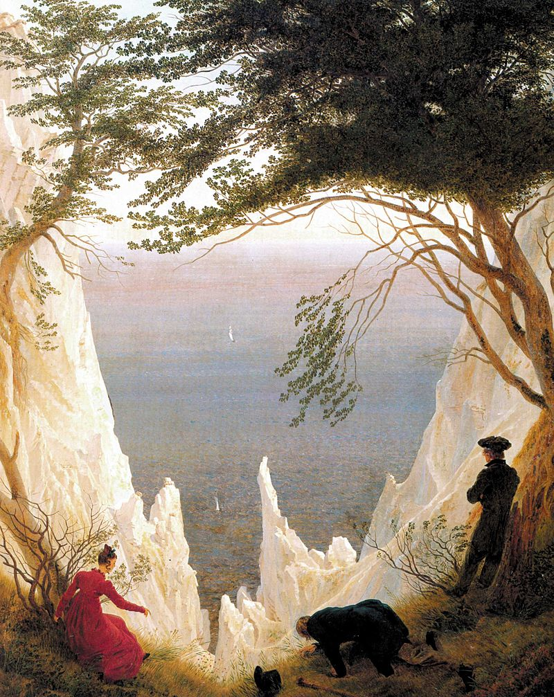 Caspar David Friedrich, Chalk Cliffs on Rügen