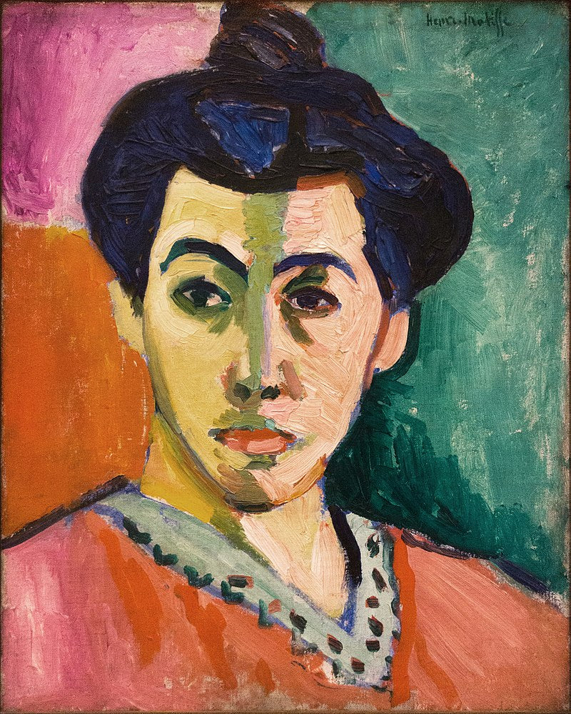 Portrait of Madame Matisse (The green line), 1905
