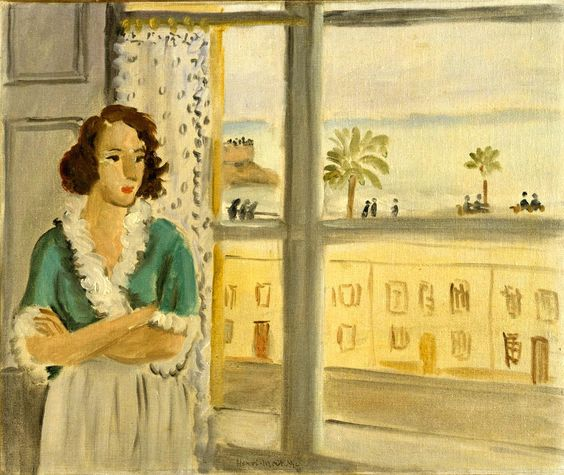 Henri Matisse, Girl at the Window, 1921