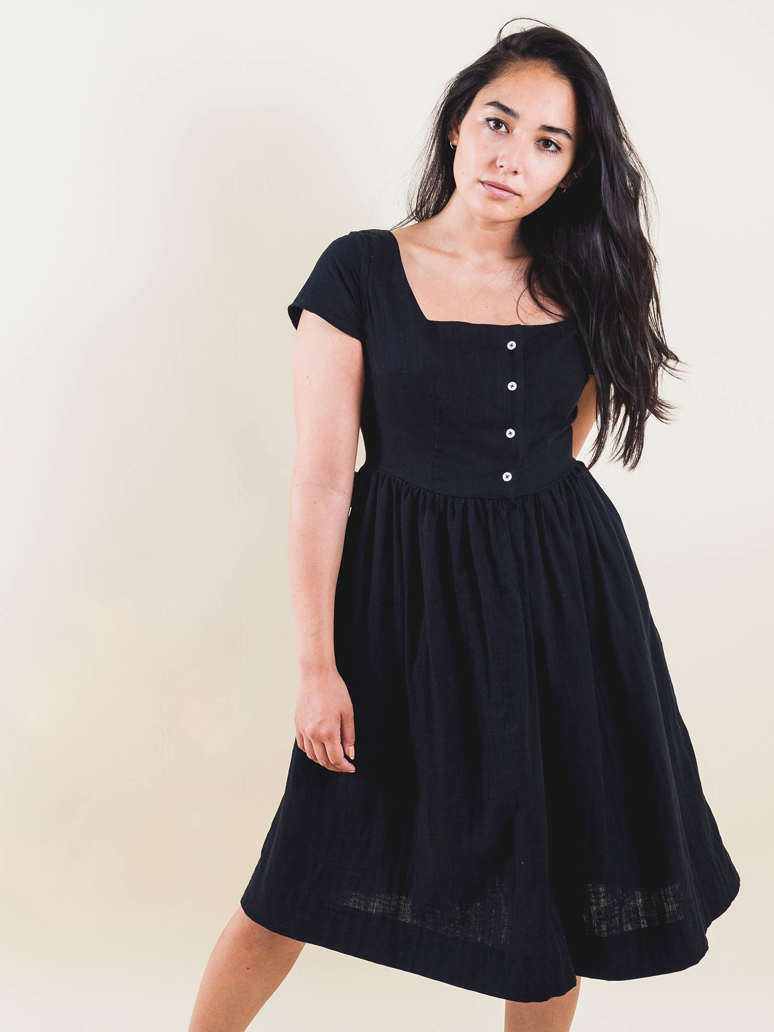 Rosie Dress in Double Gauze