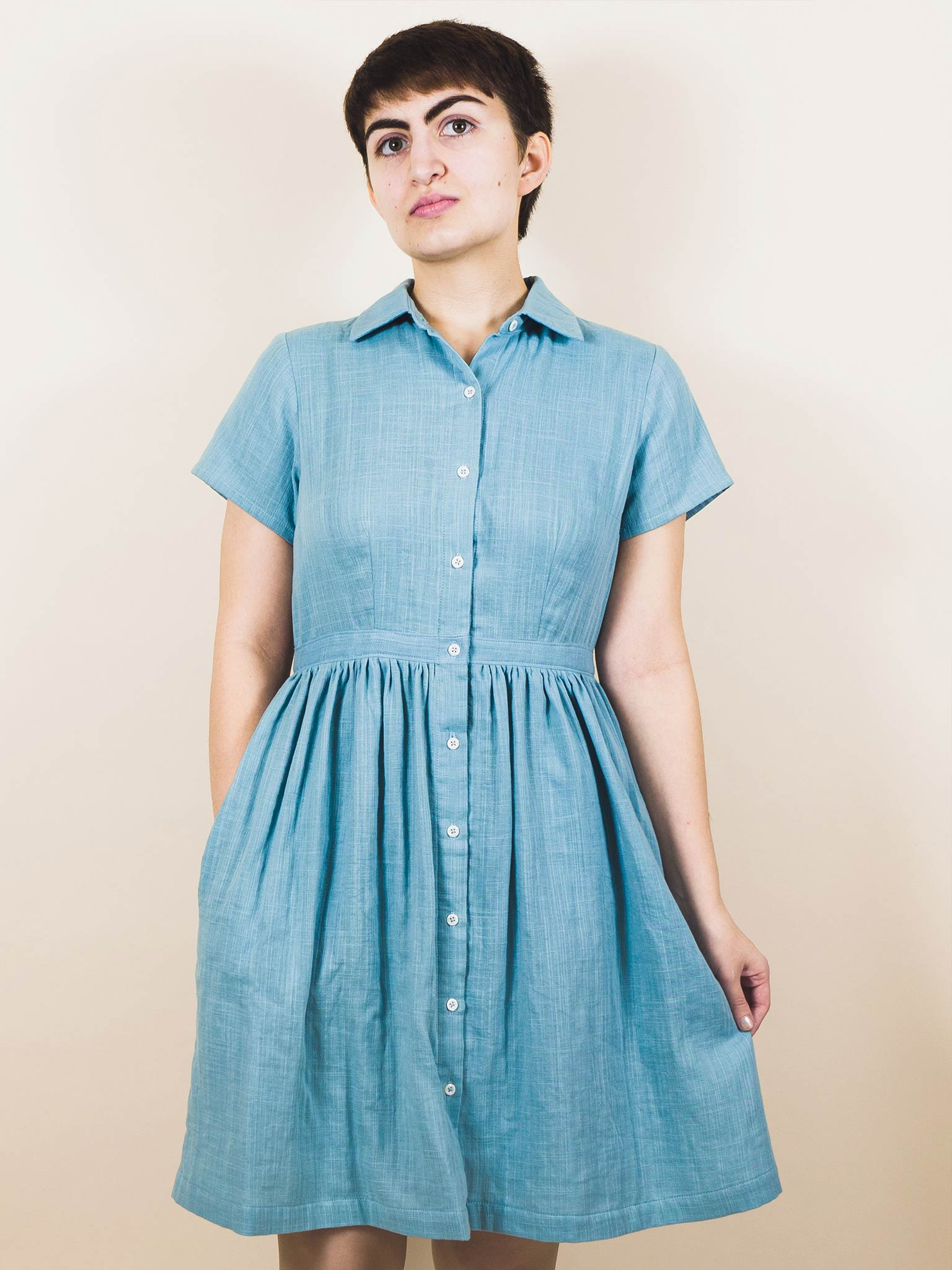 Alice Dress in Double Gauze
