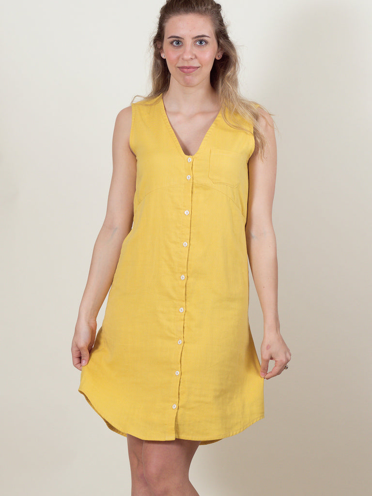 Lily Dress in Buttercup Gauze