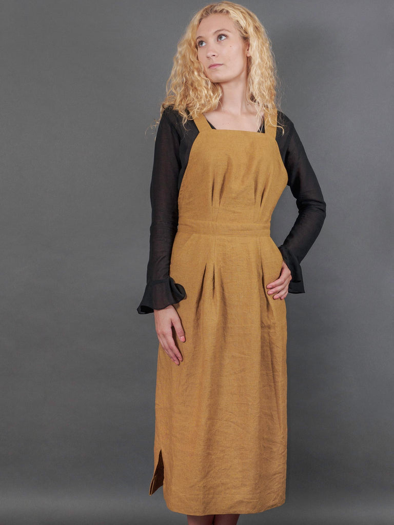 Margaret Dress in Bosc Ramie
