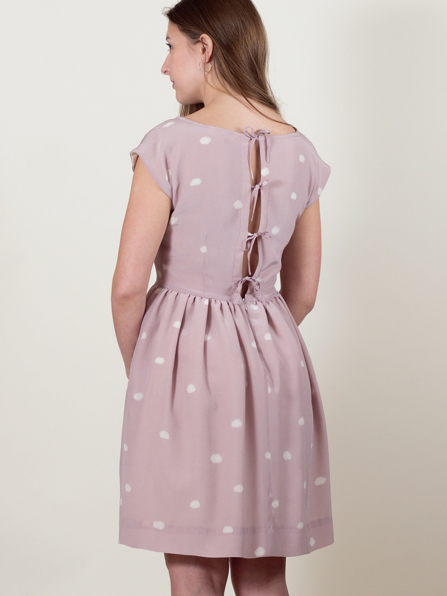Meadow Dress in Pink Cloud