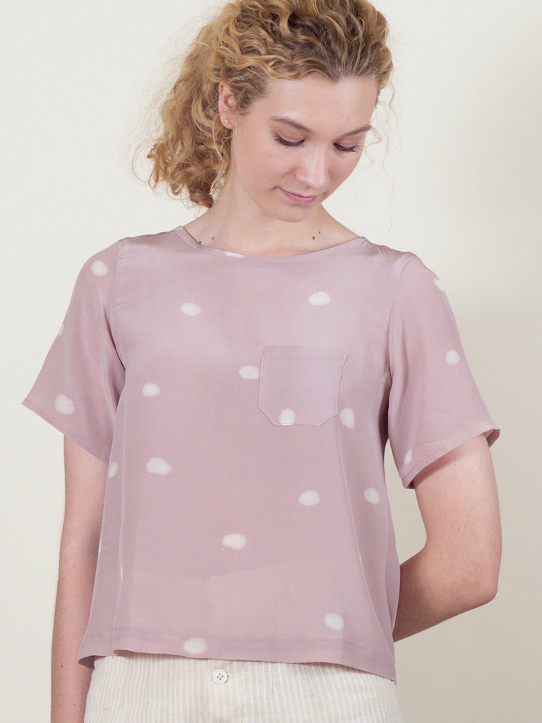 Regatta Top in Pink Cloud