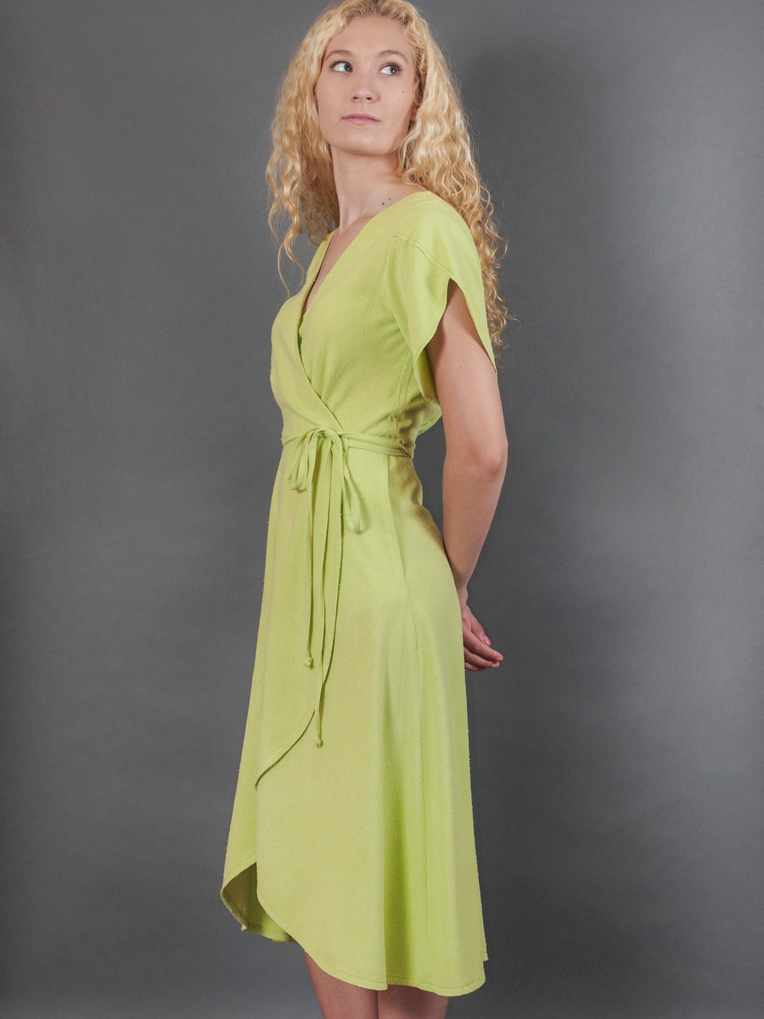 Willow Dress in Anjou Noil