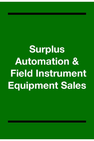 Surplus Controls & Automation Equipment