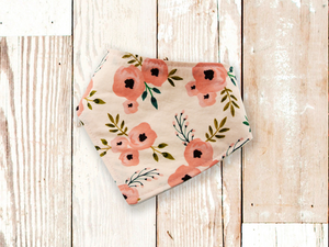 """Blush Floral"" Dog Bandana"