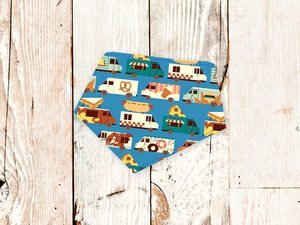 """Food Trucks"" Dog Bandana"