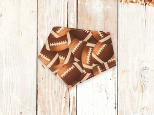 """Football"" Dog Bandana"