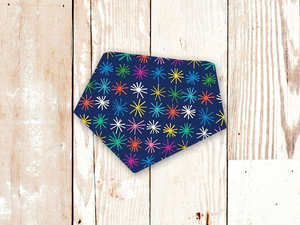 """Holiday Stars"" Dog Bandana"