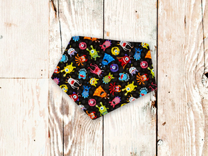 """Monsters"" Dog Bandana"