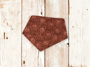 """Rusty Bears"" Dog Bandana"
