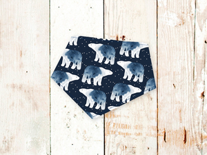 """Starry Bears"" Dog Bandana"