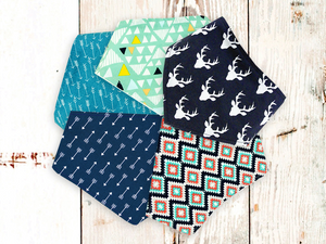"""The Boh"" Dog Bandana Set"
