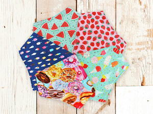 """The Madeline"" Dog Bandana Set"
