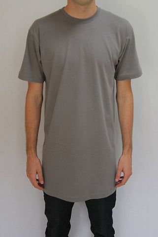 Grey Tall Tee Wholesale 5 pack