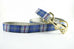 Royal Blue Plaid Leash