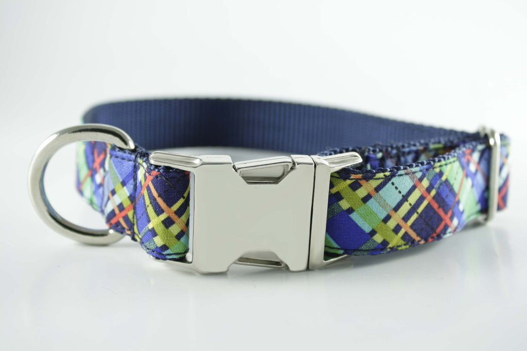 Spring Plaid Collar
