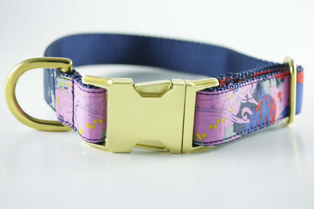 Painted Floral Collar