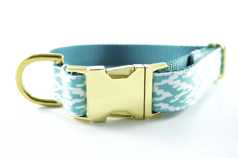 Aqua Ocean Waves Collar