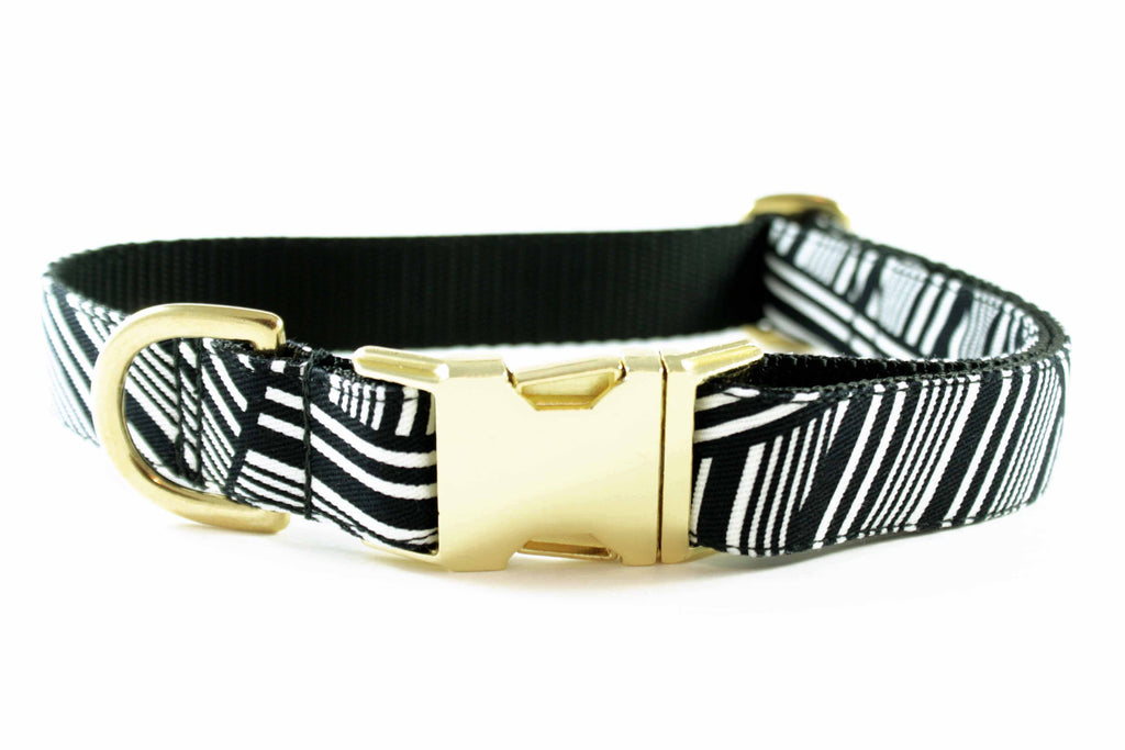 Black and White Zebra Collar