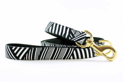 Black and White Zebra Leash