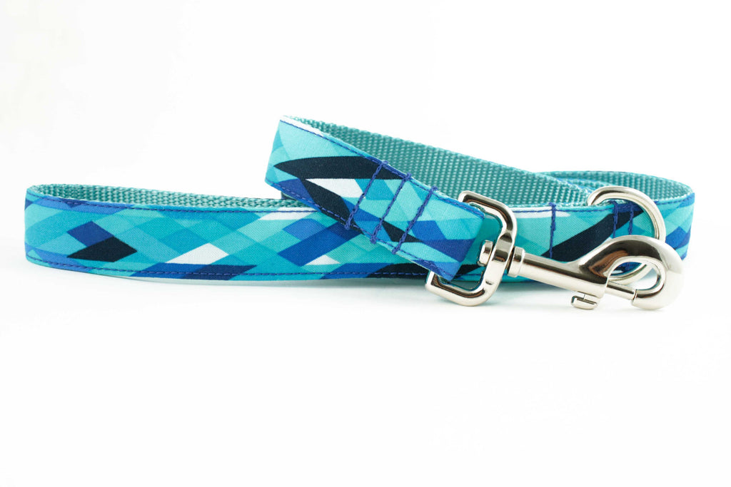 Blue Icicle Leash
