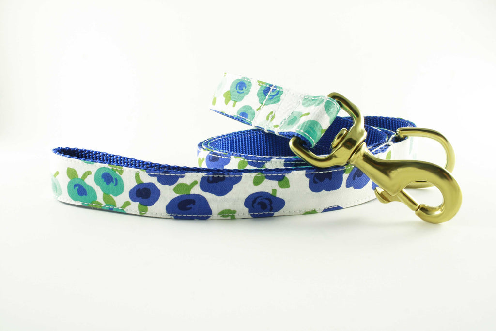 Blueberry Flowers Leash