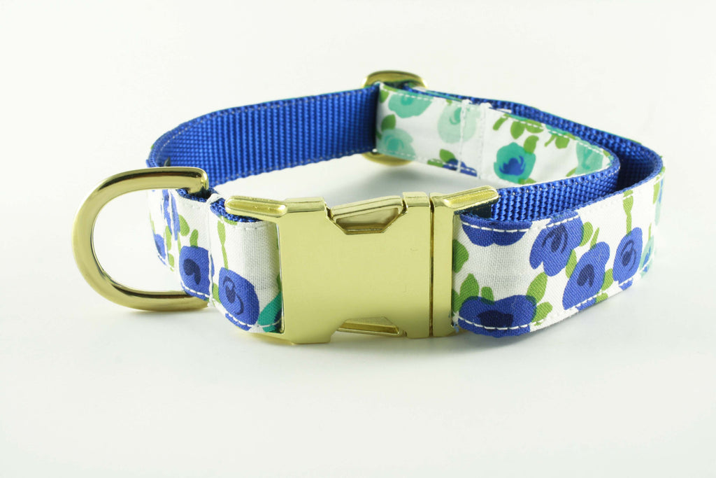 Blueberry Flowers Collar