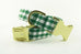 Green Gingham Collar