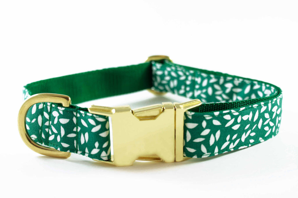Green Leaves Collar