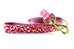 Hot Pink Cheetah Leash