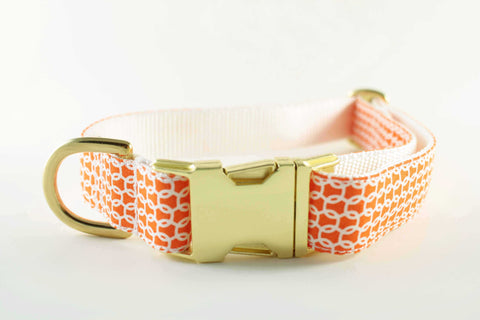 Nautical Orange Collar