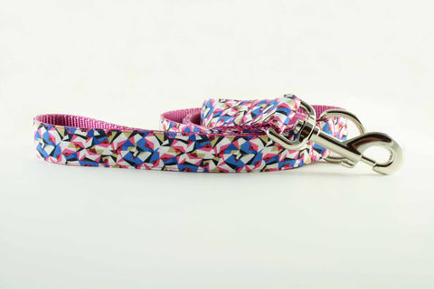 Pink Kaleidoscope Leash