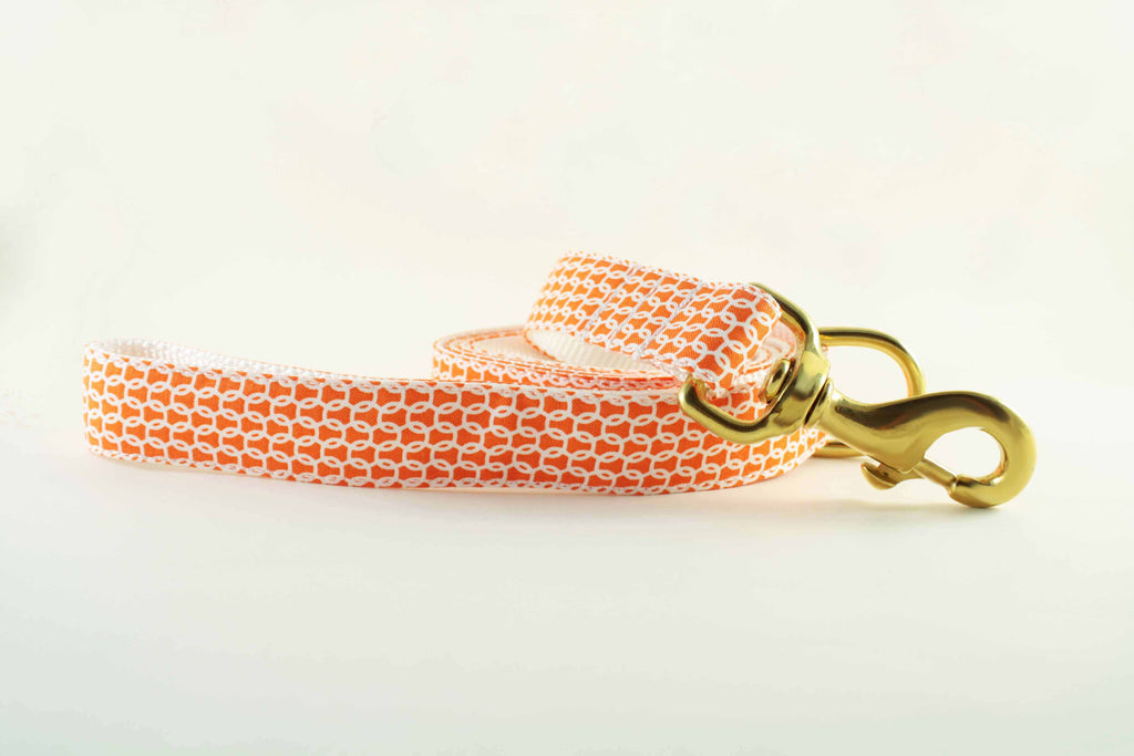 Nautical Orange Leash