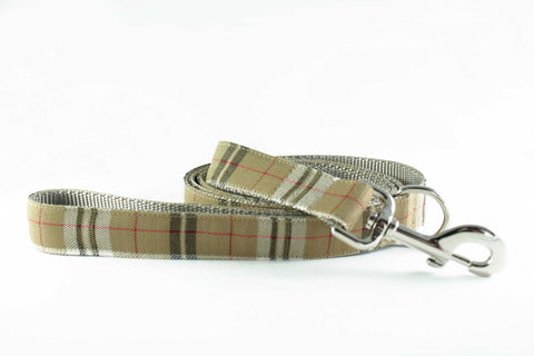 British Plaid Leash