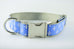 Light Blue Fleur De Lis Collar