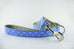 Light Blue Fleur De Lis Leash