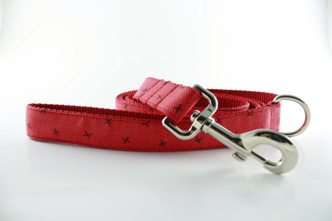 Candy Apple Stars Leash