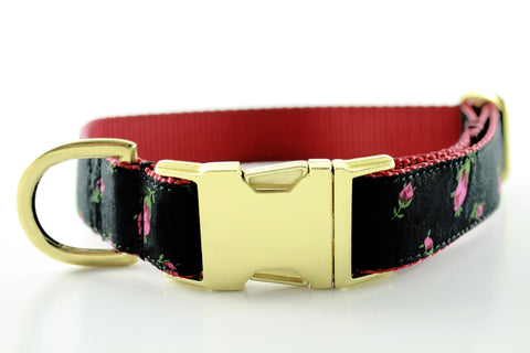 Holiday Roses Collar - FINAL SALE