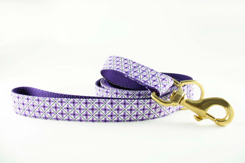 Violet Flowers Leash