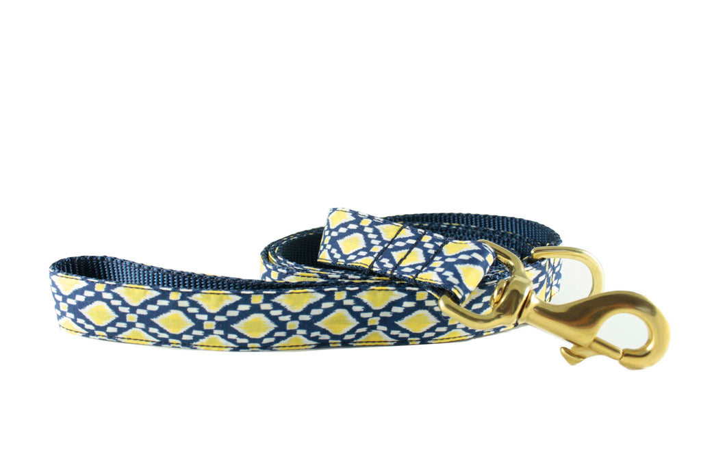 Navy Lemon Drop Leash