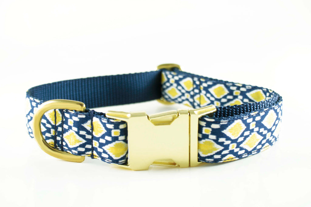 Navy Lemon Drop Collar