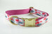 Rose Colored Canvas Collar